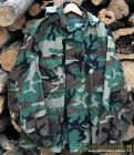 Original parka US army woodland